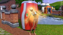 Festival summer - tanning booth