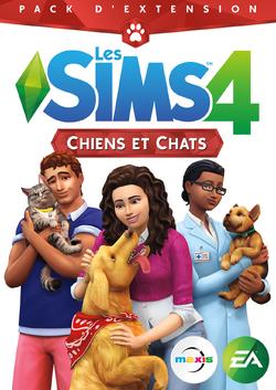 Packshot Les Sims 4 Chiens et Chats