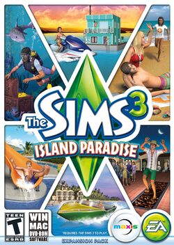 The Sims 3 Island Paradise Cover