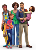 The Sims 4 Parenthood Render 02