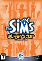 The Sims Superstar boxart