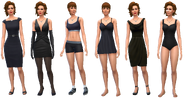 Lenore Gray Outfits (TS4)
