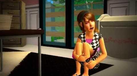 The Sims 2 Family portrait P!nk