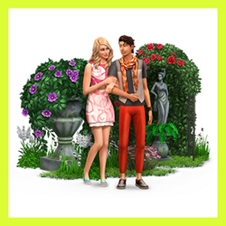 The Sims Spark'd Destination Wedding theme