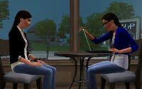 Leona Jean in coffeeshop