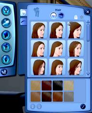 CAS - Cheveux (Les Sims 3)
