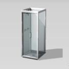 Cabina de ducha Caja de Cristal