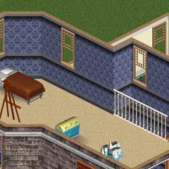Primer piso, habitación de Casandra
