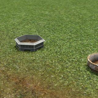 Los tres maceteros disponibles para plantar en <i>Los Sims 3: Criaturas sobrenaturales</i>.