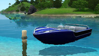 Speedboat by Public Domains