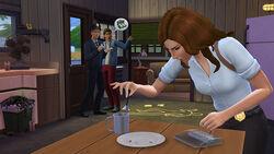 The Sims 4 detective screenshot