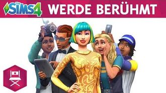 Die Sims 4 Werde berühmt - Offizieller Ankündigungs-Trailer