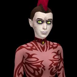 Miss Hell Dark Form Headshot
