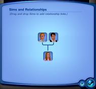 CAS - Arbre généalogique (Les Sims 3)
