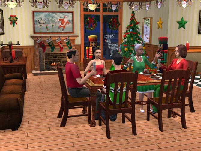 The Sims 2 Holiday Party Pack The Sims Wiki FANDOM powered by Wikia