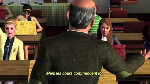 Les Sims 3 University - Vidéo commentée de gameplay