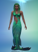 TS4 CAS Mermaid 1