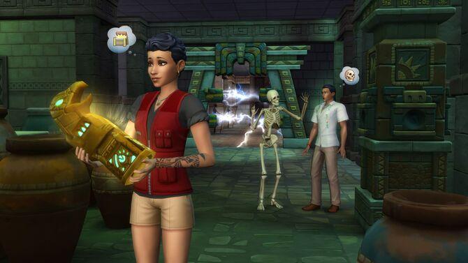 Sims4 Aventura en la Selva 1