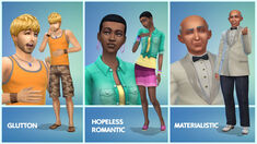 Some other TS4 traits showcase