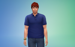 Carson Rogers The Sims 4
