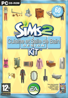 Jaquette Les Sims 2 Cuisine et Salle de bain Design