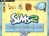Les Sims 2: Cuisine et Salle de Bain Design