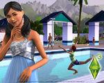 Les Sims 3 Fond d'écran Piscine 1280x1024