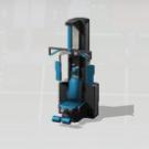 Máquina de ejercicio El Potro