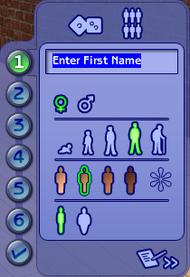 CAS - Bases (Les Sims 2)