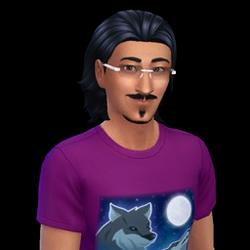 Lazlo Curious (The Sims 4)