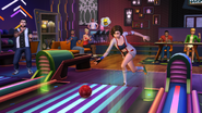 The Sims 4 Bowling Night Stuff Screenshot 02