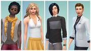 Les Sims 4 Personnalisation du genre