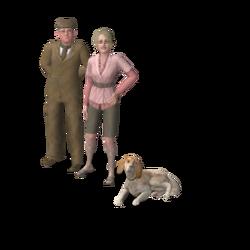 Bedlington familie