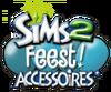De Sims 2 Feest! Accessoires Logo