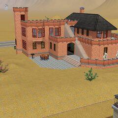 Casa Panero parte trasera de la casa