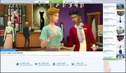 Galerie Les Sims 4 nouvelle version 1
