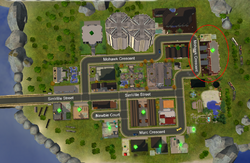 Seaspray Apartments - road map