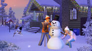 TS3 seasons winter snowman