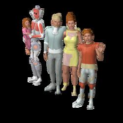 Famille Plènozas (Oasis Landing)