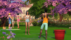 TS4Seasons Water balloon fight