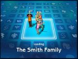 Loading screen of Smith family