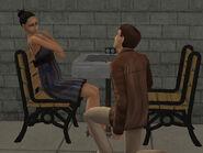 Timothée draguant Viviane