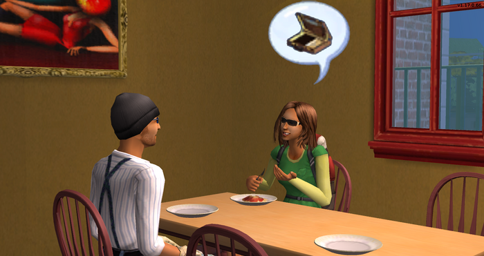 Trisha talking to Thomas about Trent's flawed ambitions