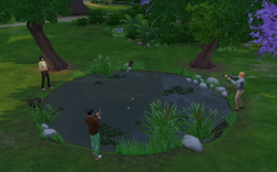 TS4 Sims Fishing