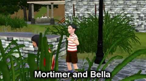 The Sims 3 - First look on Mortimer Goth and Bella Bachelor