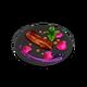 Лепестки из пряного бекона (блюдо)