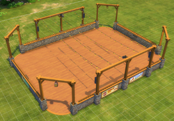 Large Rustic Roller Rink