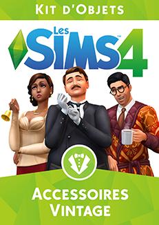 Packshot Les Sims 4 Accessoires Vintage