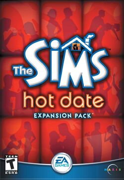 The Sims Hot Date Cover