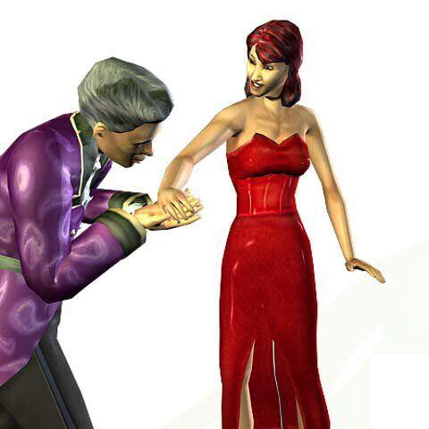 Elvira y Homero Lápida en <i>Los Sims: Toman la calle</i>